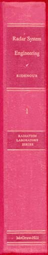 Radar System Engineering: Ridenour, Louis (Editor)