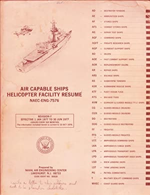 Air Capable Ships Helicopter Facility Resume