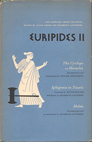 Euripides II: Grene, David and Richmond Lattimore (Editors)