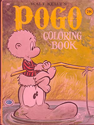 Walt Kelly's Pogo Coloring Book