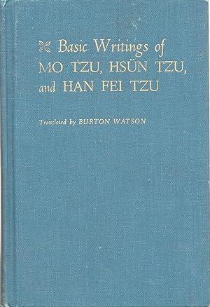 Mo Tzu: Basic Writings