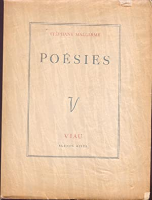 Poesies: Mallarme, Stephane