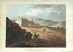 Print of Joseph's Pit & Well from Picturesque Scenery in the Holy Land and Syria: Francis ...
