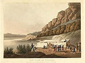 Print of The Lake of Tiberia from Picturesque Scenery in the Holy Land and Syria: Francis B. ...