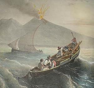 Pêcheurs Napolitains sur le Golfe de Naples: Ferdinand Perrot