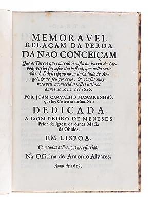 Memoravel Relacam da perda da Nao Conceicam: Mascarenhas, Joam Carvalho