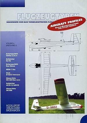 Flugzeugtypen: Dokumente zum bau Vorbildgetreuer Flugzeugmodelle -