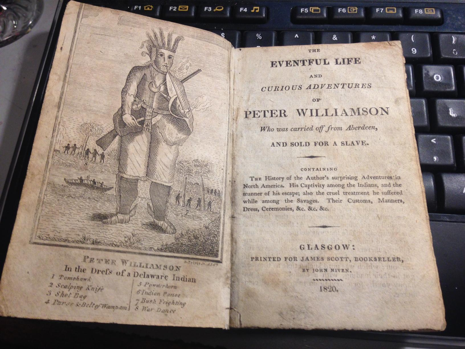 French and Indian Cruelty: The Life and Curious Adventures of Peter Williamson