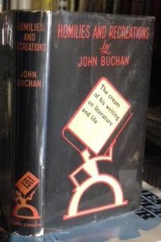 HOMILIES AND RECREATIONS.: BUCHAN, John