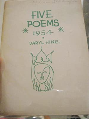 FIVE POEMS, 1954.