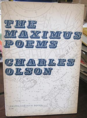 THE MAXIMUS POEMS (Inscribed): OLSON, Charles