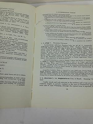 National Museum of Canada Bulletin No. 140: Flora of Manitoba: Scoggan, H.J.