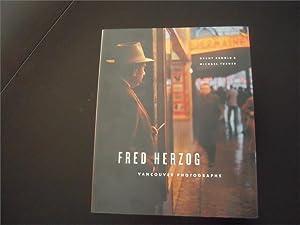 Fred Herzog: Vancouver Photographs: Herzog, Fred