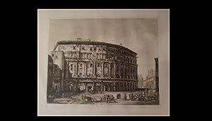 Avanzi del Teatro di Marcello, situato in