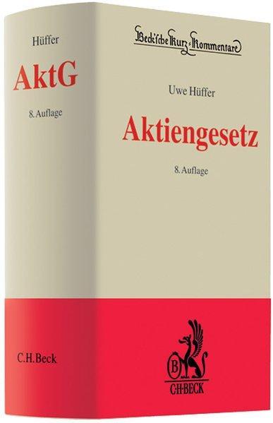 Aktiengesetz: Hüffer, Uwe: