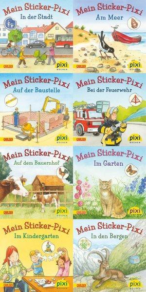 Pixi-Serie Nr. 199: Meine Sticker-Pixis: 8 x