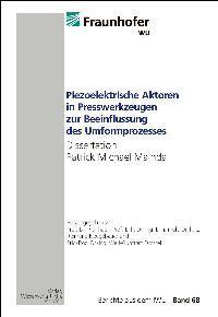 Dissertation Mainda, Patrick Michael, Berichte aus dem: Michael Mainda, Patrick: