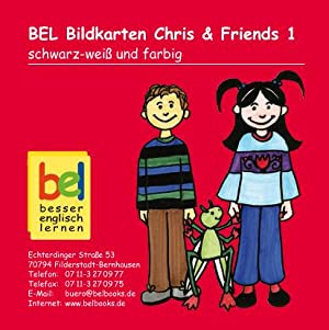 Learning English with Chris & Friends Bildkarten: Baylie, Beate and