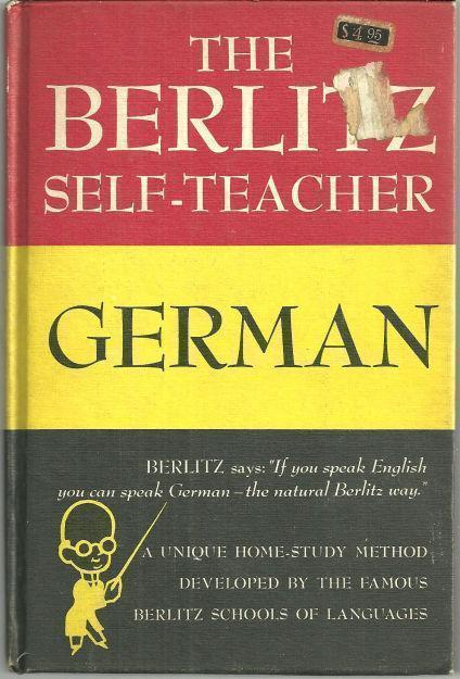 BERLITZ SELF TEACHER GERMAN, Berlitz