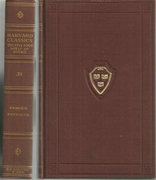 PREFACES AND PROLOGUES TO FAMOUS BOOKS With Introductions and Notes, Eliot, Charles Editor