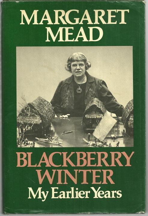 Image for BLACKBERRY WINTER My Earlier Years