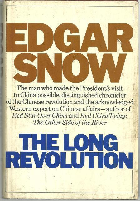 LONG REVOLUTION The Other Side of the River, Snow, Edgar
