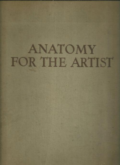 ANATOMY FOR THE ARTIST, Barcsay, Jeno