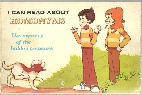I CAN READ ABOUT HOMONYMS The Mystery of the Hidden Treasure, Supraner, Robyn