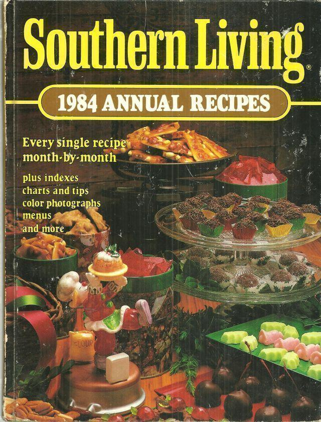 1984 ANNUAL RECIPES, Southern Living