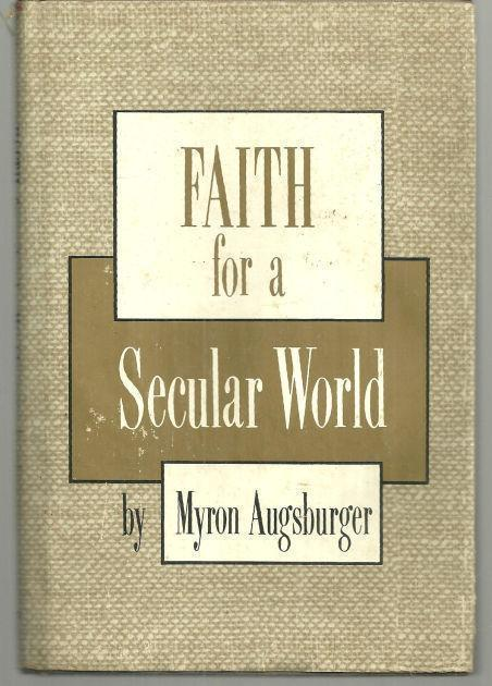 Image for FAITH FOR A SECULAR WORLD