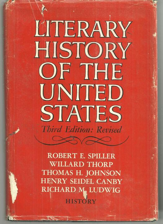 Image for LITERARY HISTORY OF THE UNITED STATES History