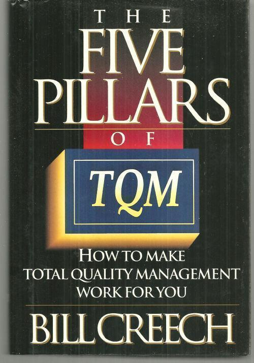 Image for FIVE PILLARS OF TQM How to Make Total Quality Management Work for You
