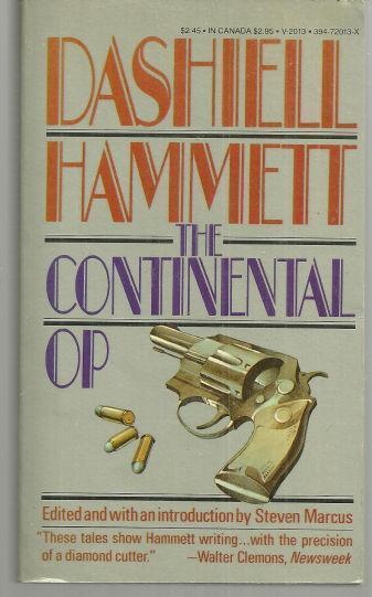 CONTINENTAL OP, Hammett, Dashiell
