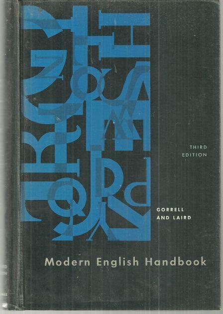 MODERN ENGLISH HANDBOOK, Gorrell, Robert