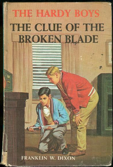 CLUE OF THE BROKEN BLADE, Dixon, Franklin