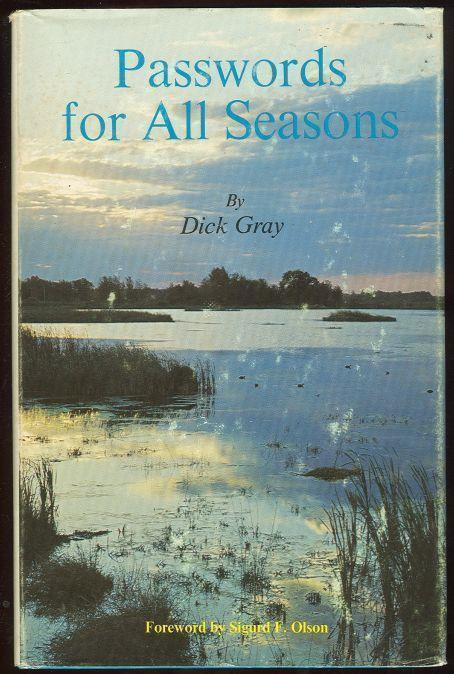 PASSWORDS FOR ALL SEASONS, Gray, Dick
