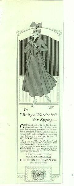 Image for 1916 LADIES HOME JOURNAL STYLE CRAFT MAGAZINE ADVERTISEMENT