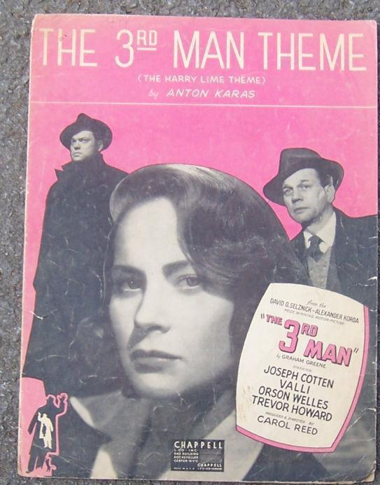 3RD MAN THEME The Harry Lime Theme, Sheet Music