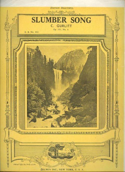 Image for SLUMBER SONG Op. 101, No. 6