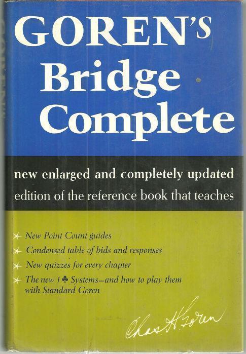 Image for GOREN'S BRIDGE COMPLETE