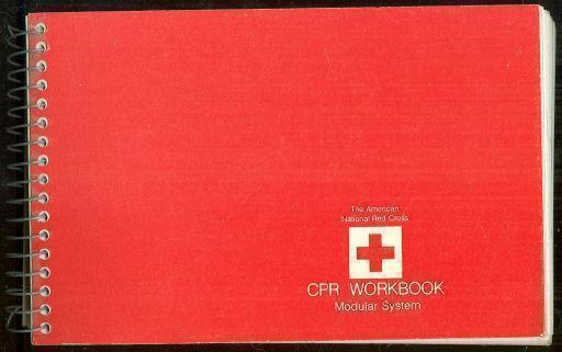 CPR WORKBOOK Modular System, American Red Cross