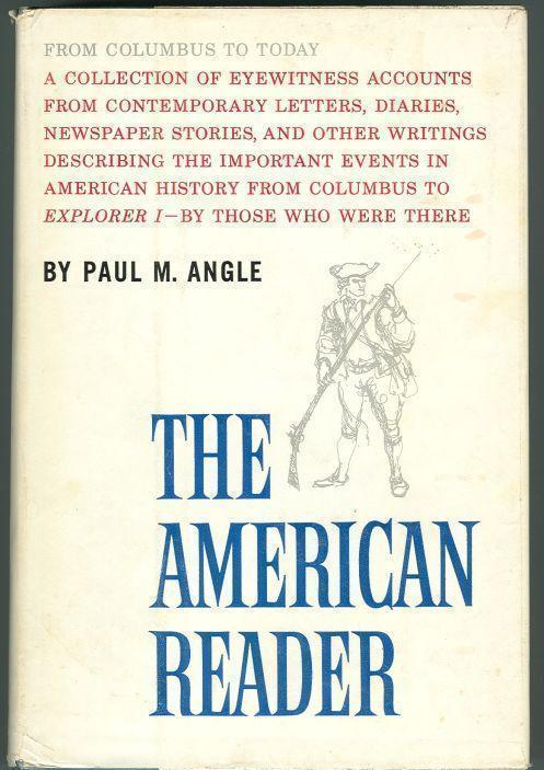 Image for AMERICAN READER From Columbus to Today