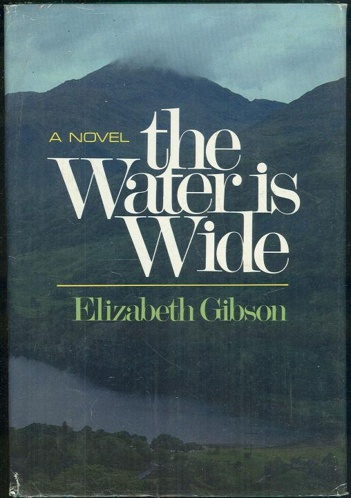 WATER IS WIDE A Novel of Northern Ireland, Gibson, Elizabeth