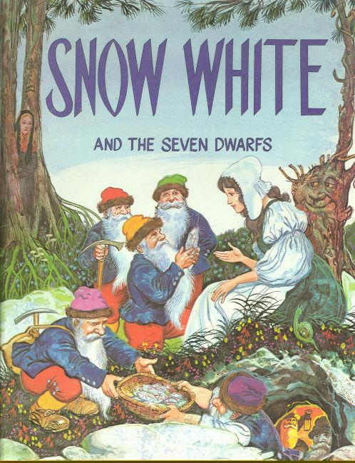 SNOW WHITE AND THE SEVEN DWARFS Derrydale Classic Fairy Tales