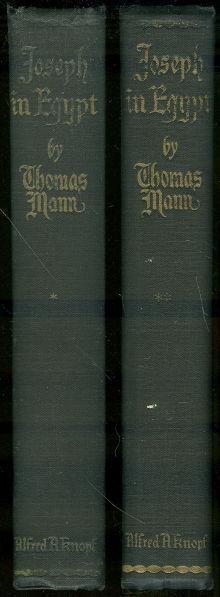JOSEPH IN EGYPT Two Volumes, Mann, Thomas