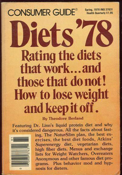 DIETS '78 Rating the Diets That Work and Those Do Not., Berland, Theodore