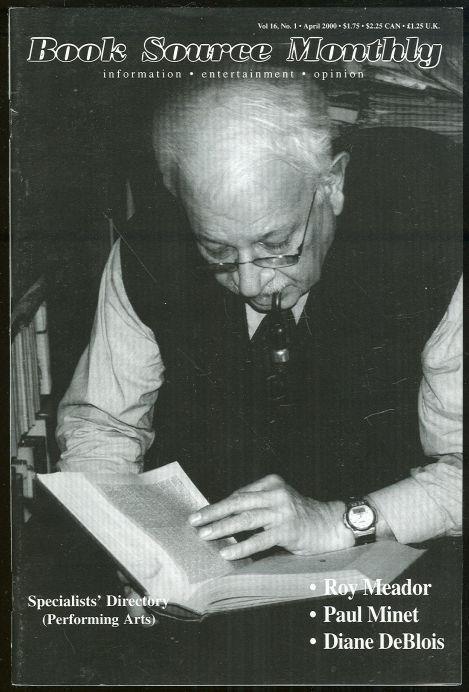 HUCKANS, JOHN - Book Source Monthly Magazine April 2000