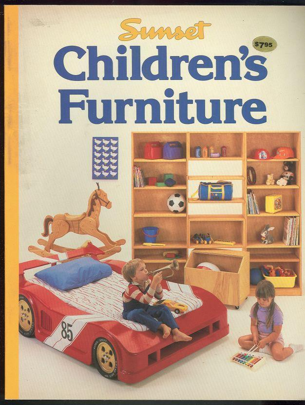 CHILDREN'S FURNITURE, editors Of Sunset Books