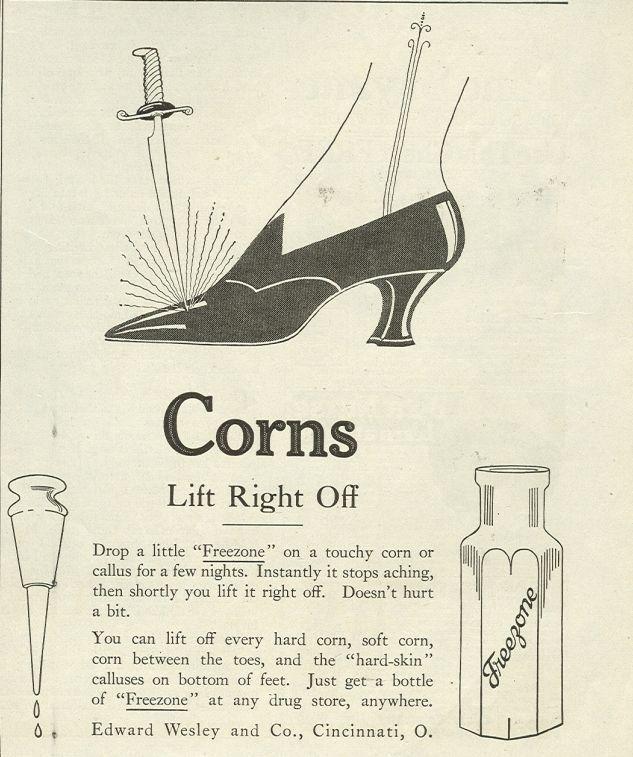 Image for 1921 LADIES HOME JOURNAL FREEZONE MAGAZINE ADVERTISEMENT