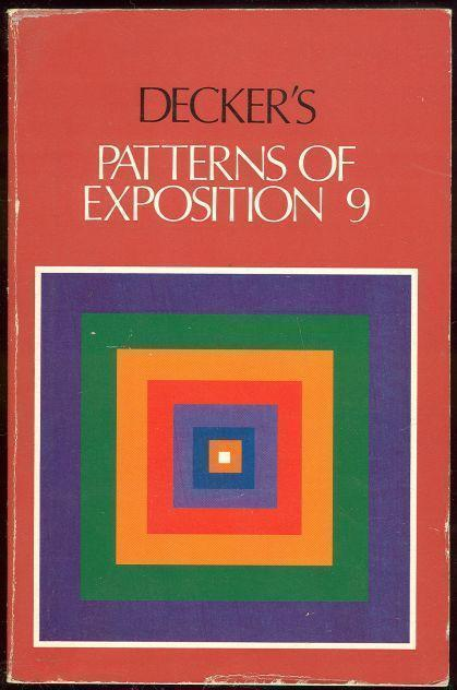 PATTERNS OF EXPOSITION 9, Decker, Randall